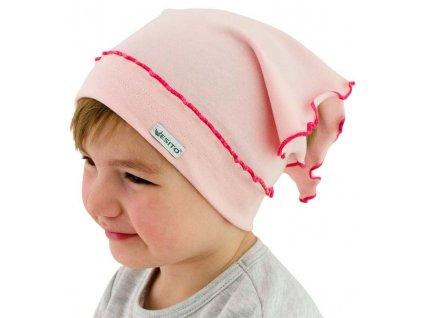 ESITO Dívčí šátek jednobarevný - 40 / růžová ESDIVSATJBA