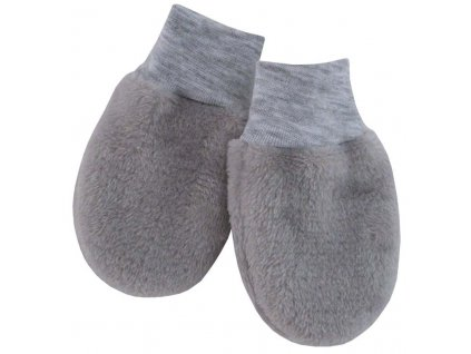 ESITO Kojenecké zimní rukavice Magna vel. 56 - 68 - 56 / stříbrná