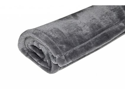 Deka VELVET 70x100 cm tmavě šedá
