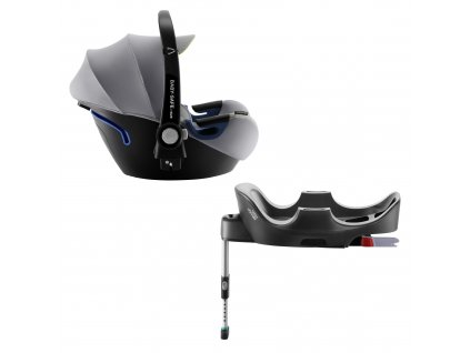BRITAX Autosedačka Baby-Safe 2 i-Size Bundle Flex, Cool Flow - Silver