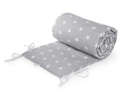 Maceshka Mantinel basic bílé hvězdy v šedé