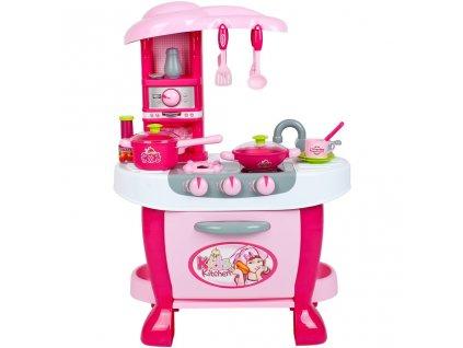 Velká dětská kuchyňka s dotykovým sensorem Bayo + příslušenství