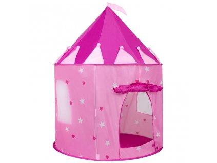 Dětský stan Hrad PlayTo růžový