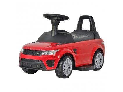 Elektrické autíčko-odrážedlo 2v1 Bayo Range Rover Sport SVR red