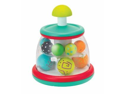 B-KIDS Hrací pult s rotujícími míčky