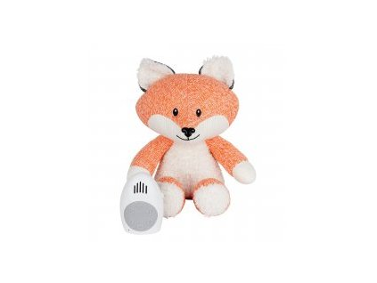 FLOW Hračka s tlukotem srdce Robin the Fox Orange