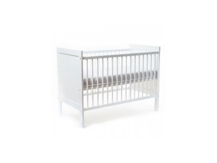 NANNA Postýlka Elle 120 x 60 cm White