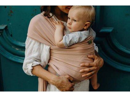 BOBA Nosič dětí / šátek Boba Wrap Serenity Bloom