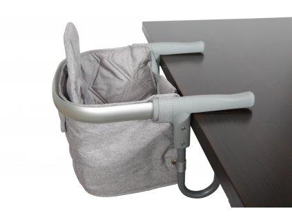 Topmark Topmark RAFI sedátko ke stolu šedé