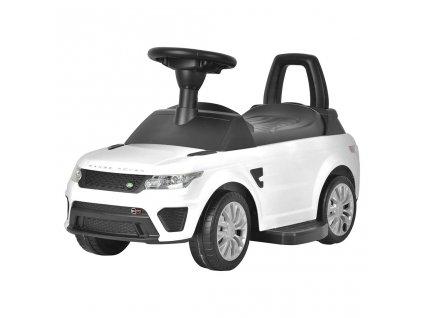 Elektrické autíčko-odrážedlo 2v1 Bayo Range Rover Sport SVR white
