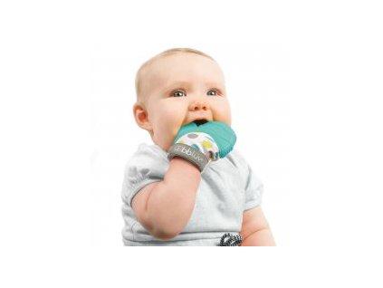 BBLÜV Glüv Dětská kousací rukavice Aqua
