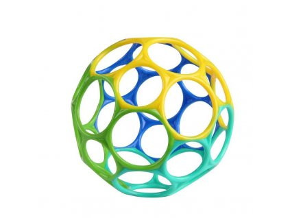 Hračka Oball Classic 10 cm modro/zelená 0m+