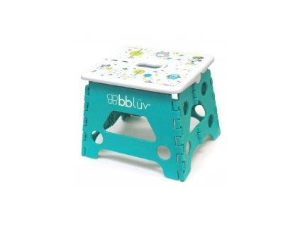 BBLÜV Stäp Skládací stolička Aqua