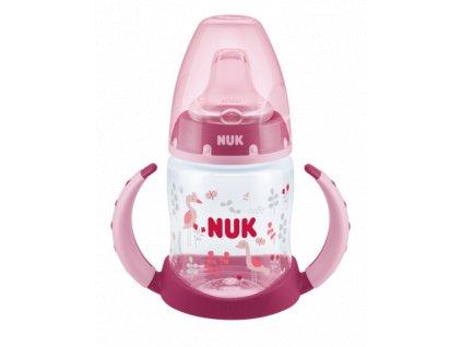 NUK 743793 Lahvička na učení s pítkem 150 ml Nuk First