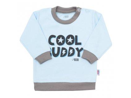Kojenecké tričko New Baby With Love modré