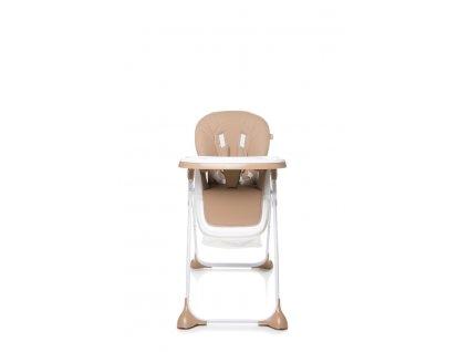 4 BABY Jídelní židlička DECCO BROWN