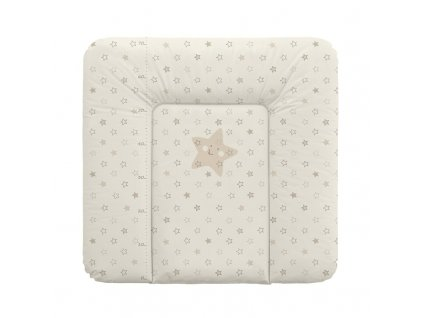 Ceba Baby podložka 75x72 hvězdy béžové