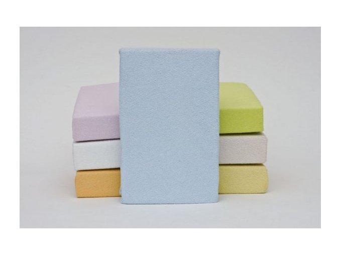 Bavlněné prostěradlo 120 x 60 s gumkou (varianta bílé)
