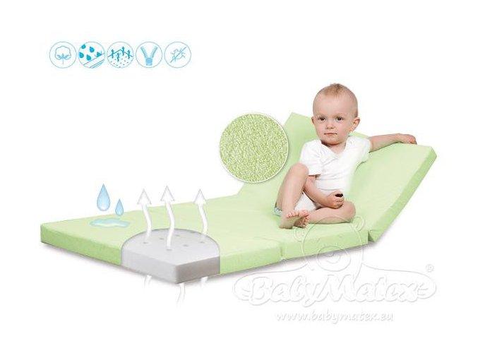 cestovní matrace Baby Matex Ressi