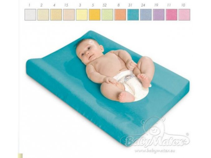 Baby Matex potah na podložku 50/60 x 70/80cm bílá 01
