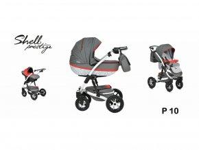 kočárek Baby Active 3v1 Shell Prestige 2019 10