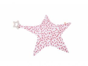 Kikadu Muchláček hvězda s kousátkem růžová