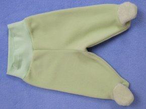 ESITO Polodupačky polar fleec - 50 / zelená ESPOLDUPFLE