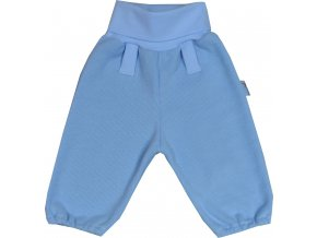 ESITO Kalhoty bavlněné svetřík vel. 56 - 68 - modrá / 56 ESKALBASVE