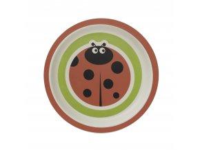 ZOPA Bambusový talířek, Ladybird