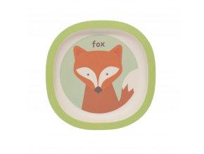 ZOPA Bambusový talířek, Fox