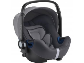 BRITAX Autosedačka Baby-Safe 2 i-Size Bundle Flex, Storm Grey