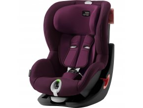 BRITAX Autosedačka King II LS Black, Burgundy Red
