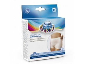 Canpol babies Multifunkční kalhotky L/XL po porodu 2ks Canpol 73/002