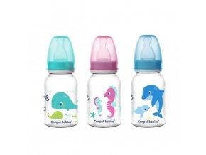 Canpol babies Láhev s potiskem LOVE&SEA 120 ml Canpol 59/300