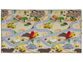 Scarlett dětský kobereček Staveniště - 120 x 200 cm