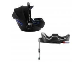 BRITAX Autosedačka Baby-Safe 2 i-Size Bundle Flex, Cool Flow - Blue