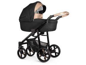 venicci lanco black carrycot