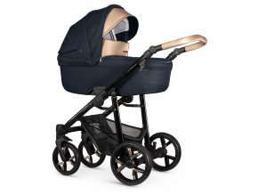venicci lanco navy blue carrycot