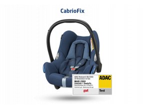 Maxi-Cosi  CabrioFix autosedačka Black Grid