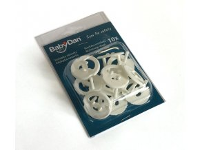 Baby Dan Babydan Ochrana do elektrických zásuvek 10 ks