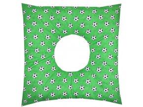 Babyrenka poporodní polštář 45x45 cm kuličky EPS Míče