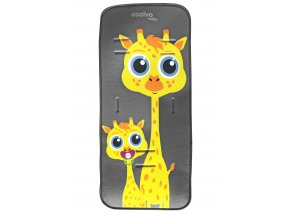 Asalvo Asalvo Podložka do kočárku 3D giraffes