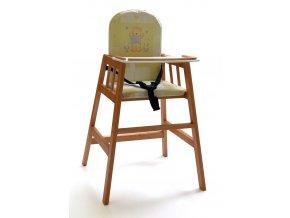 Dřevěná jídelní židlička Faktum Abigel, wenge Barva konstrukce: čajová