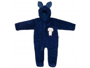 Zimní dětská kombinéza New Baby Penguin tmavě modrá Velikost: 62 (3-6m)