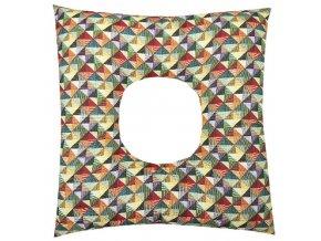 Babyrenka poporodní polštář 45x45 cm kuličky EPS Mozaika