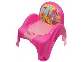 nočník záchodek hrající Tega Baby Safari (varianta yellow)