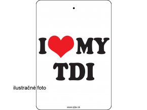 I LOVE MY TDI