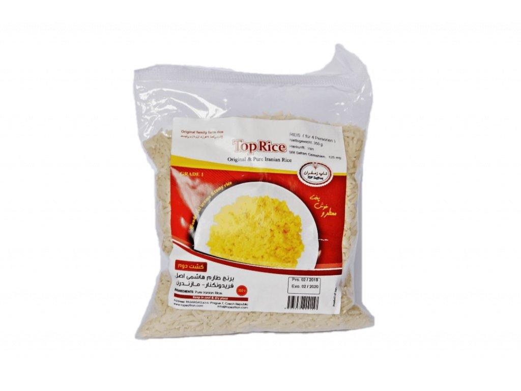 Kvalitná iránska ryža, podobná našej basmati ryži