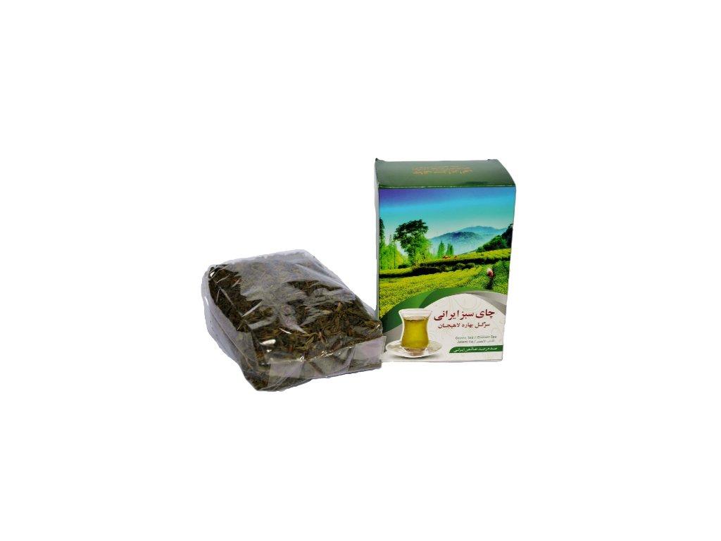 Zelený sypaný čaj