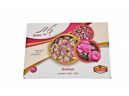 Sušené ružové kvety, vhodné aj na konzumáciu